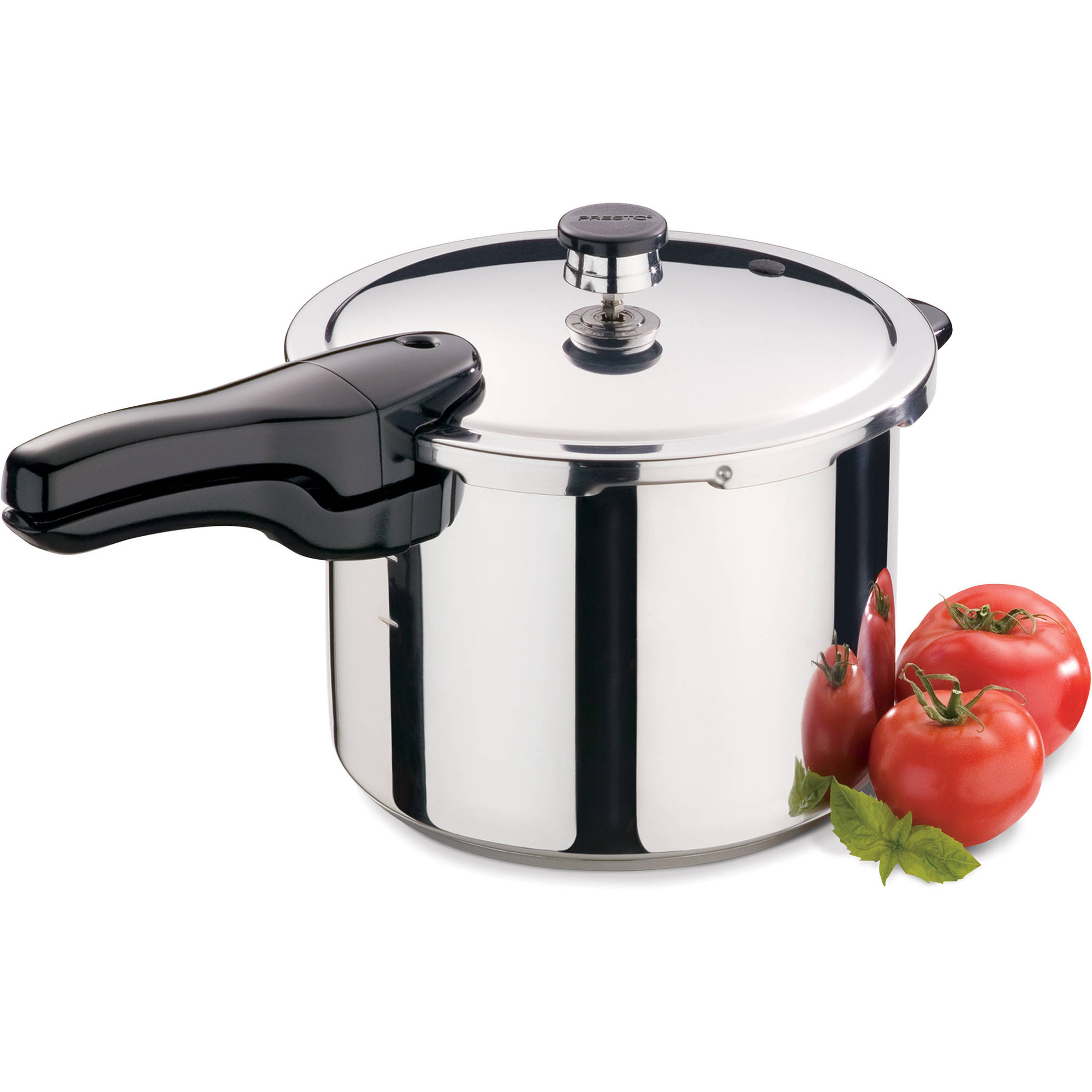 Presto 6-Quart Pressure Cooker, Stainless Steel