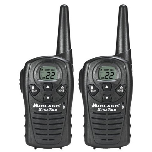 Midland GMRS 2-Way Radio with 22 Channels, LXT118 by Midland