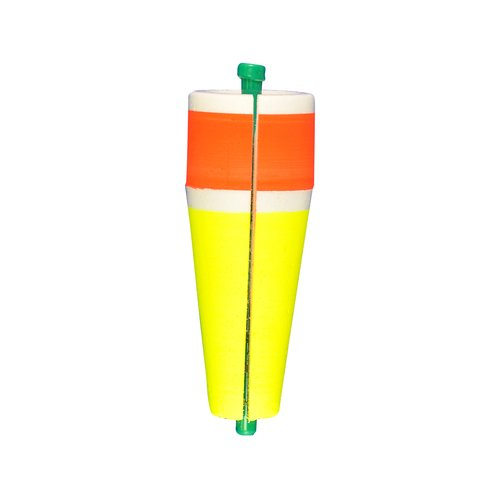 Comal Weighted Popping Float, Red and Yellow