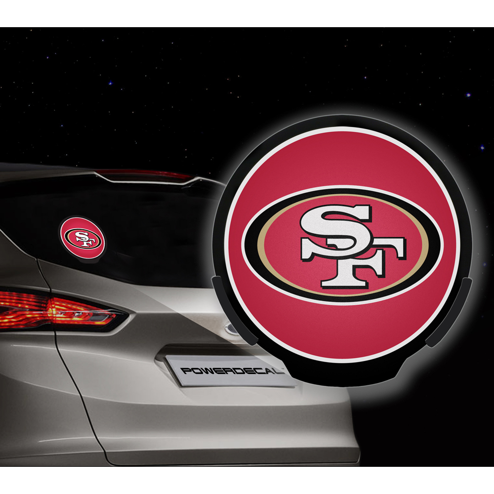San Francisco 49ers NFL Power Decal