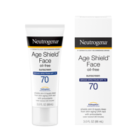 Neutrogena Age Shield Sunscreen Lotion, SPF 70 Oil-Free, 3 fl oz