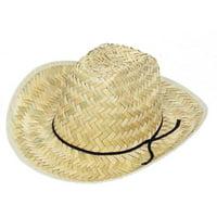 Kids Straw Cowboy Hat, 1ct