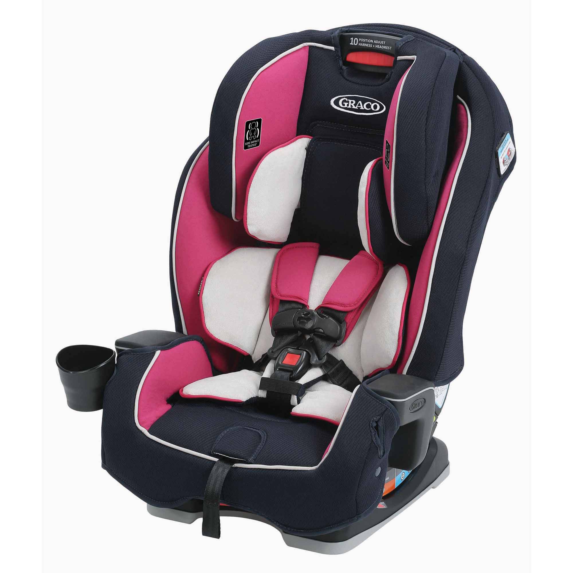 Graco Milestone All-in-1 Convertible Car Seat, Ayla