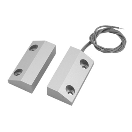 Metal Wired Safety Home Garage Door Magnetic Reed Switch