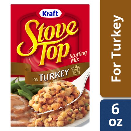 Kraft Stove Top Turkey Stuffing Mix, 6 oz Box