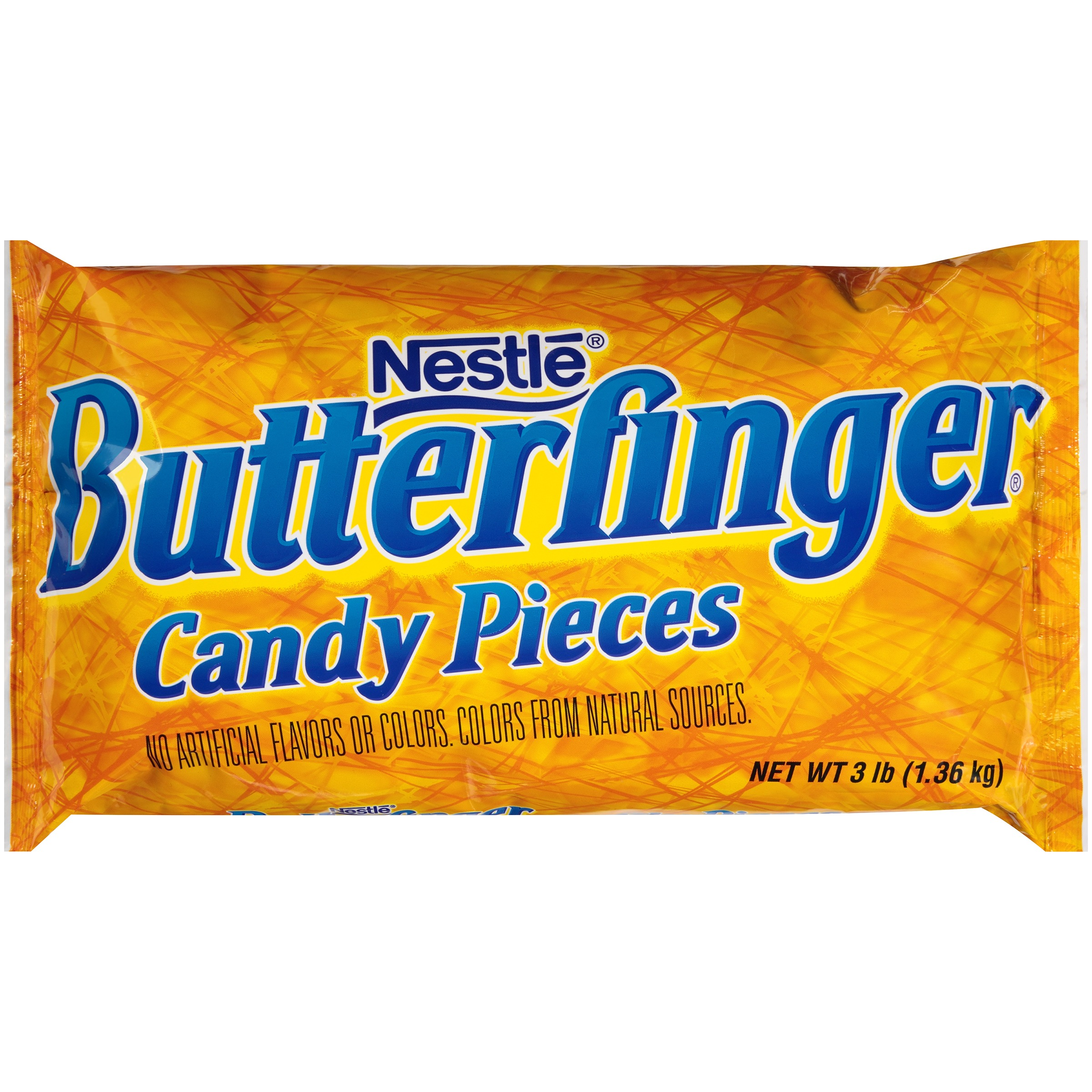 Nestlé Butterfinger Candy Pieces 3 lb Bag