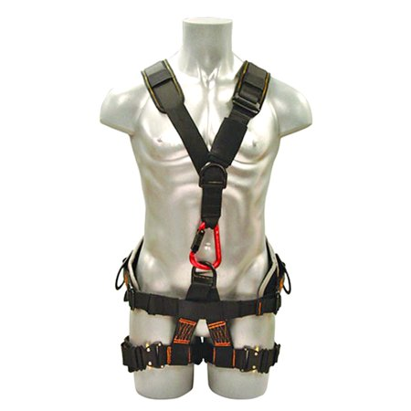 Madaco Roof Construction Fall Protection Heavy Duty Full Body Industrial Safety Harness Size M-XXL ANSI OSHA H-TB501