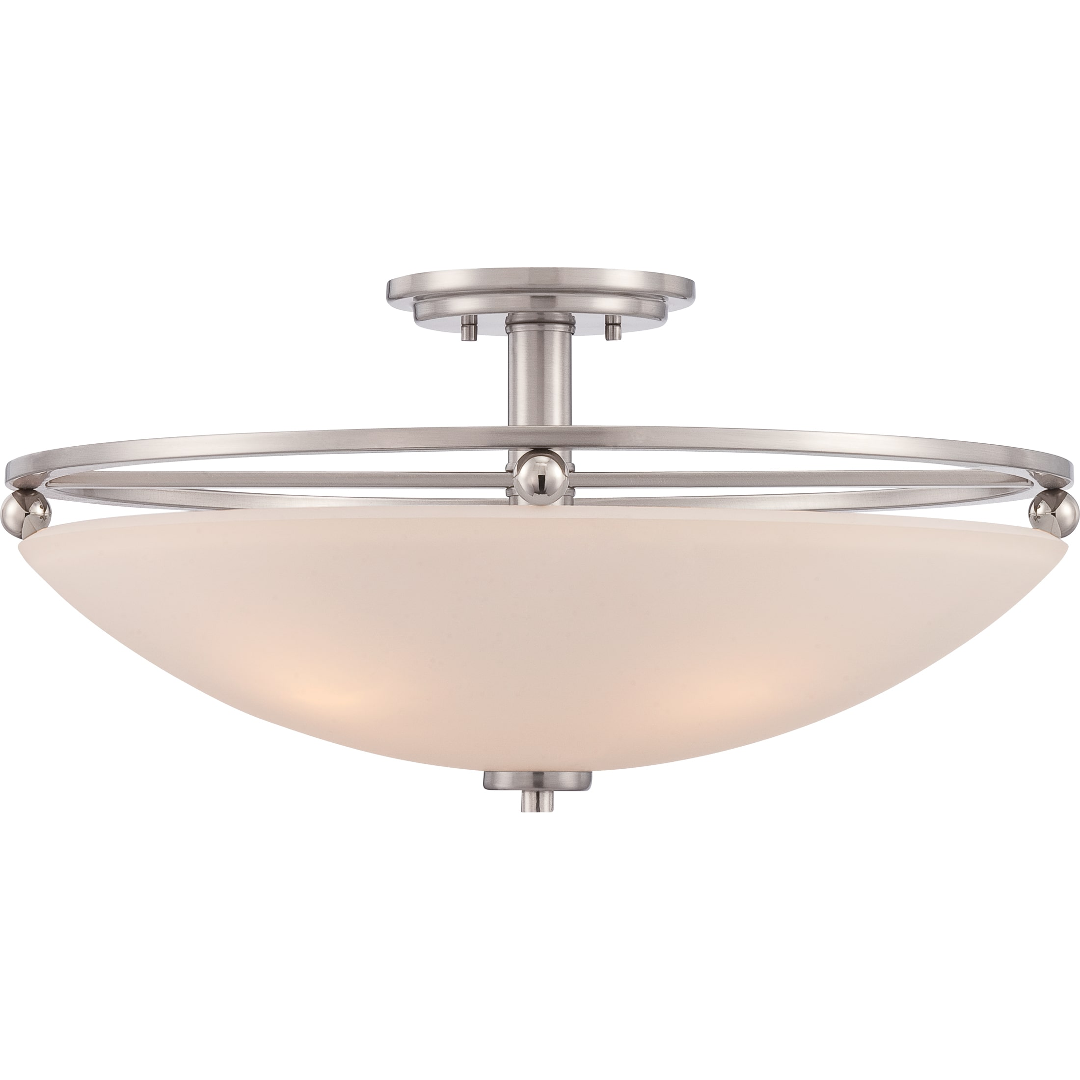 Quoizel Castle 4-light Brushed Nickel Se by Overstock