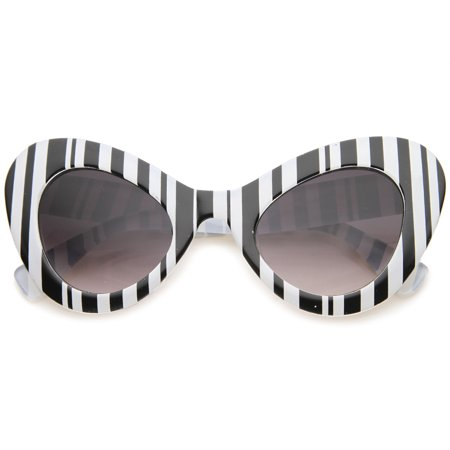 sunglassLA - Womens Cat Eye Sunglasses With UV400 Protected Gradient Lens - (Women With Cat Eyes)