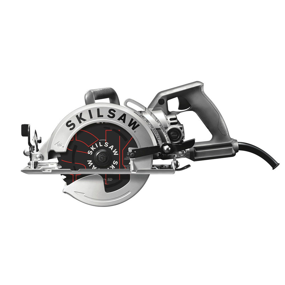 Factory-Reconditioned SKILSAW SPT77W-RT 7-1/4 in. Aluminum Worm Drive Circular Saw with Carbide Blade (Refurbished)