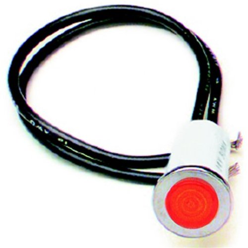 Painless Performance 80209 PAN80209 INDICATOR LIGHT 1/2 RED