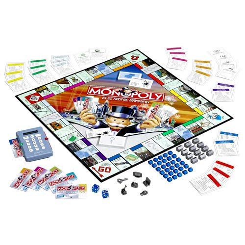 Monopoly Electronic Banking Edition 2007 Printing Vgnm