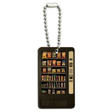 Snacks Chips Candy Vending Machine Wood Rectangle Key