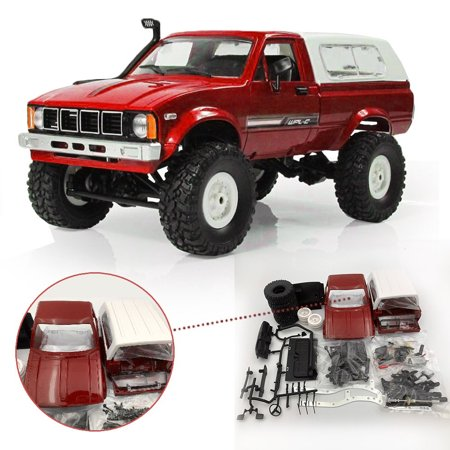 WPL C24 1/16 Kit 4WD 2.4G 2CH Military Truck Buggy Crawler Off Road RC Car Toy Gift 4wd Off Road Buggy