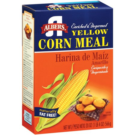 Image of Albers Yellow Enriched & Degermed Corn Meal 20 Oz Box