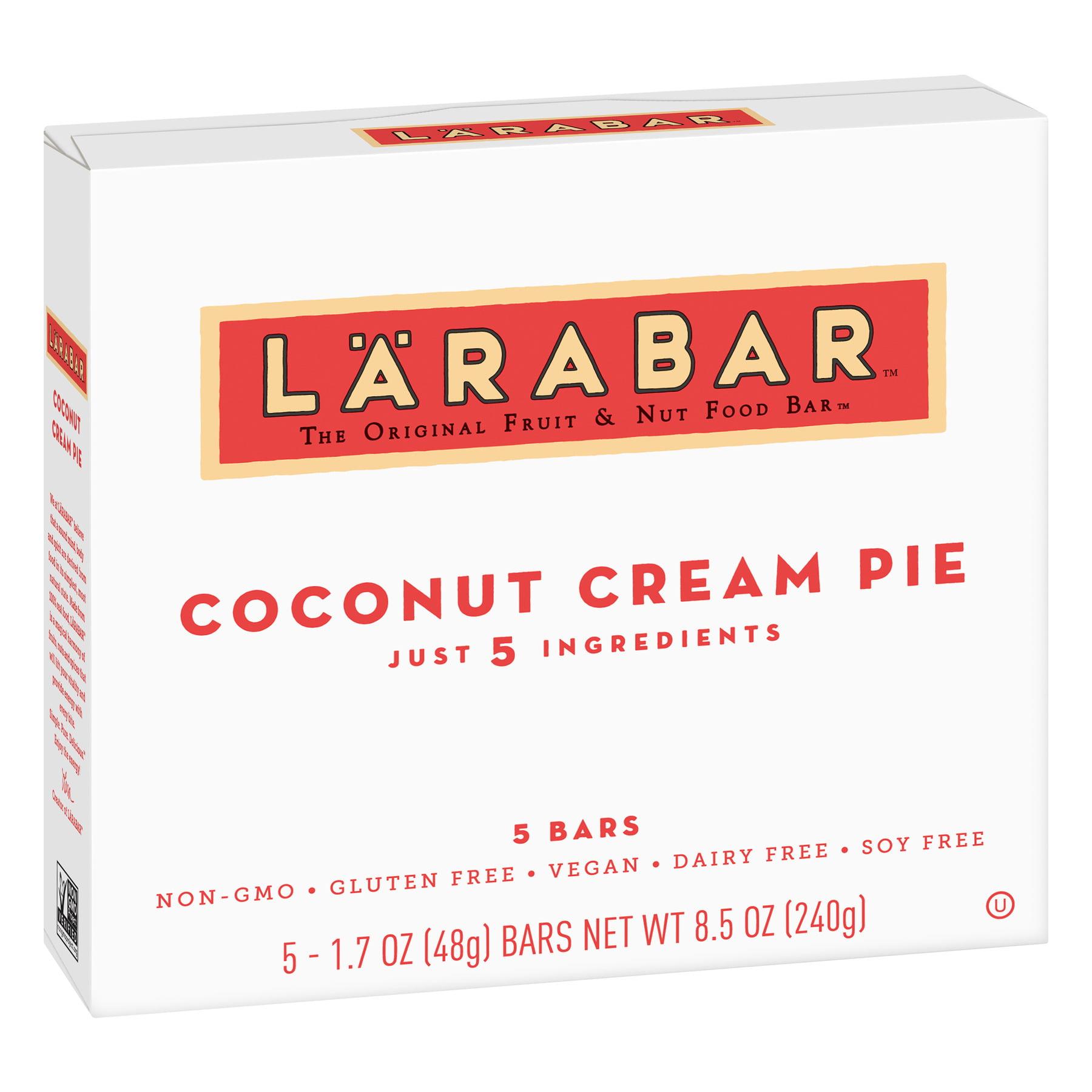 Larabar Gluten Free Coconut Cream Pie Fruit and Nut  Bars 5 ct, 8.5 oz