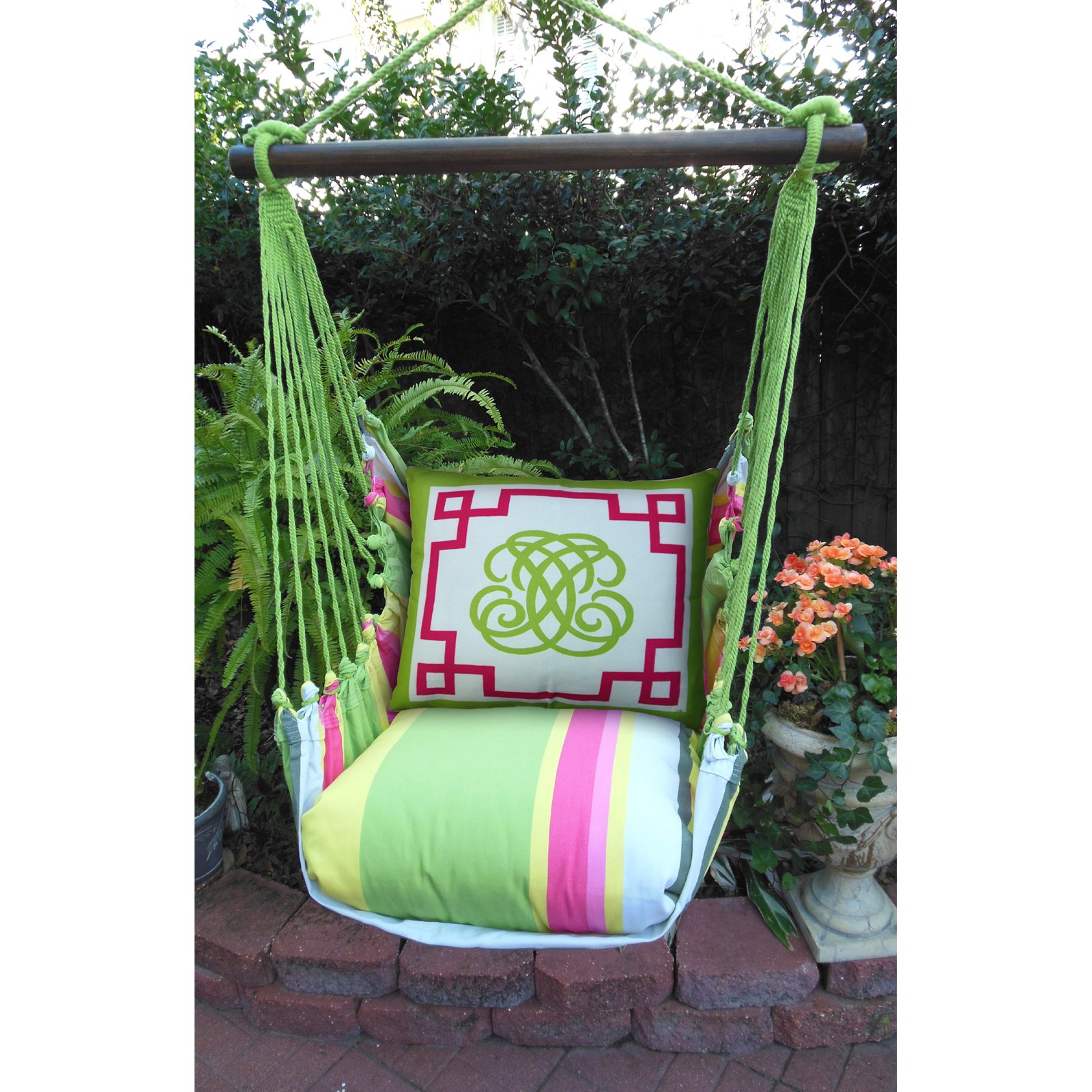 Magnolia Casual Regency Hammock Chair & Pillow Set