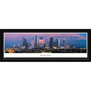 Houston, Texas - Blakeway Panoramas Print with Select Frame and Single Mat
