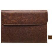 Raika VI 165 COGNAC 16in. x 11in. Gusseted Portfolio - Cognac