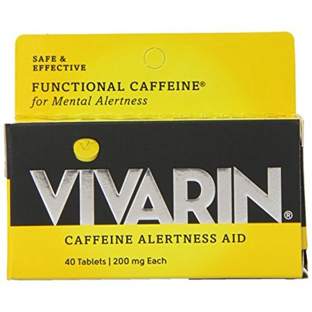 4 Pack Vivarin Caffeine Alertness