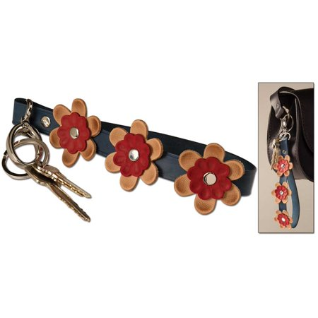 Tandy Leather Floral Wristlet Key Charm Kit 4151-00