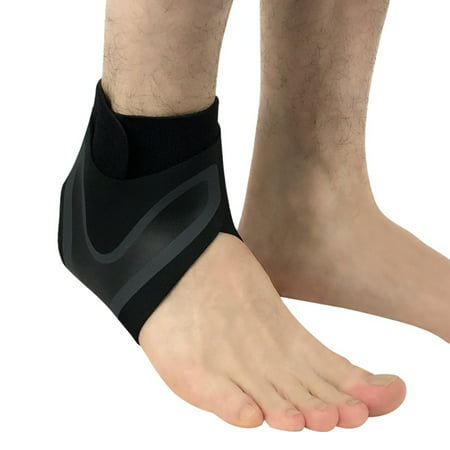 Ankle Brace Compression Support Sleeve for Injury Recovery, Joint Pain and More. Plantar Fasciitis Foot Socks with Arch Support, Eases Swelling, Heel Spurs, Achilles Tendon