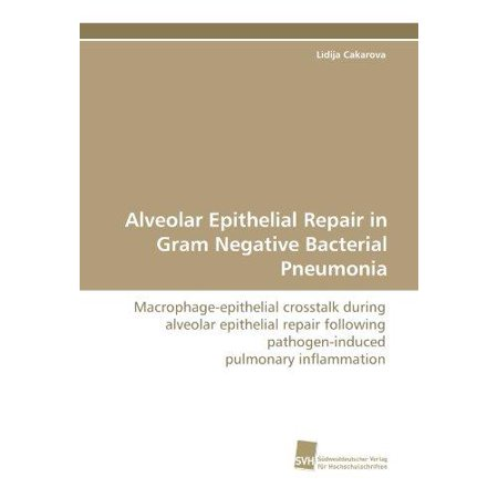 Alveolar Epithelial Repair In Gram Negative Bacterial Pneumonia
