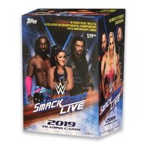 2019 Topps WWE Smackdown Blaster Box- 4 Womens Evolution Cards  1 Relic Card Guaranteed