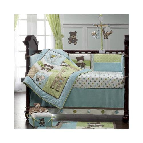 Bundle-81 Kids Line Toyland Crib Bedding Collection (2 Pieces)