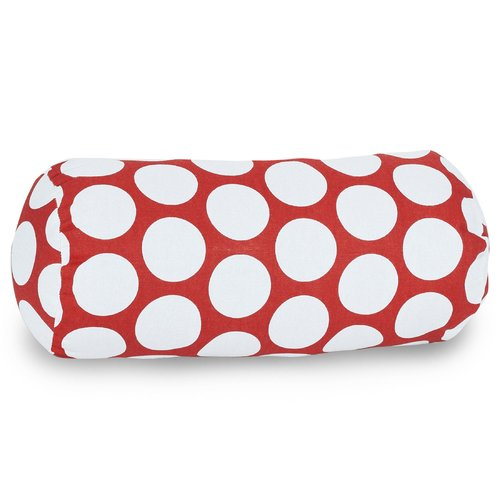Majestic Home Goods Round Cotton Bolster Pillow