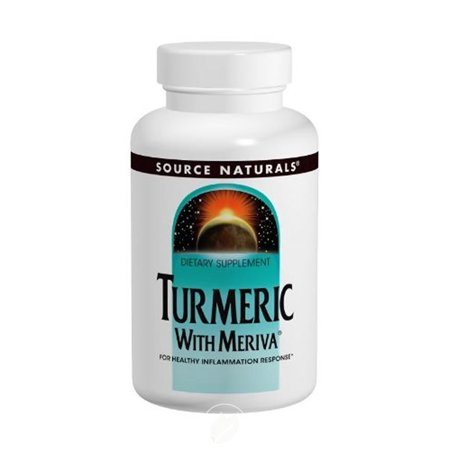 Source Naturals Turmeric with Meriva 500mg, For Healthy Inflammation Response, Pack of