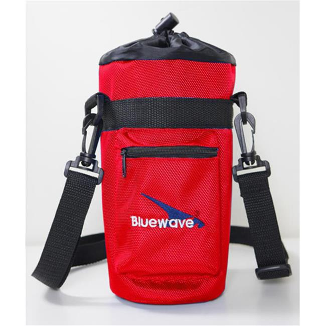 Bluewave Lifestyle PKSS200-Red Water Bottle Insulated Carrying Holder Case, Red - 1. 5 L
