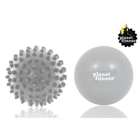 Gray Roller Ball (Planet Fitness Hot & Cold Massage Therapy Roller Balls Kit, Pack of)