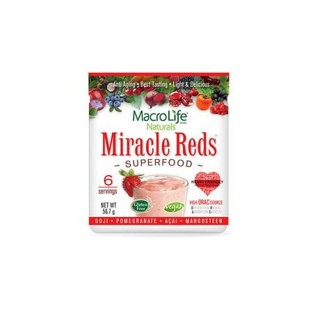Macrolife naturals miracle reds, 2 oz