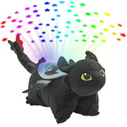 Pillow Pets NBCUniversal How to Train Your Dragon Sleeptime Lite - Toothless Plush Night Light