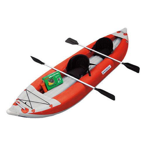 Maxxon Inflatables Self-Bailing Inflatable Kayak