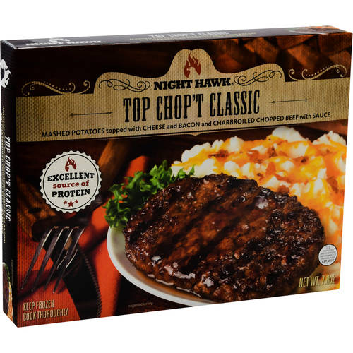 Night Hawk Top Chop't Classic Frozen Entree, 7.8 oz
