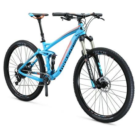 "Mongoose Salvo Sport 29"" Men's Full Suspension Mountain Bike, Blue, Small"