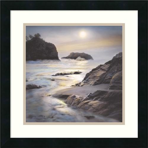Amanti Art William Vanscoy 'Where the Angels Hide' Framed Artwork Print 18 x 18-inch by Overstock