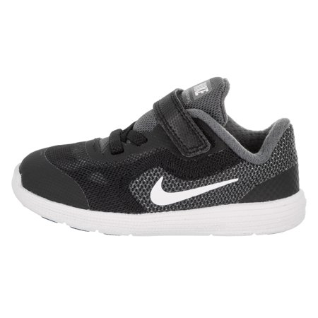 new styles 6e225 87f85 Nike - Nike 819415-001 Revolution 3 Dark Grey White Black Pure Platinum  Sneaker (7 M US Toddler, Dark Grey White Black Pure Platinum) - Walmart.com