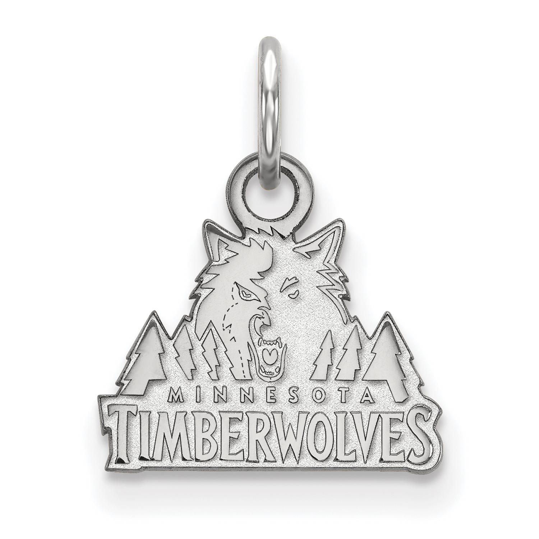 Minnesota Timberwolves Women's Sterling Silver XS Pendant - No Size