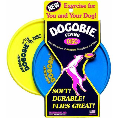 Promotional Flying Discs - Aerobie Dogobie Flying Disc Multi-Colored