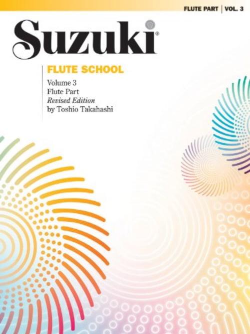 Suzuki Flute School Flute Part Volume 3 Revised, 0169S by Alfred Publishing