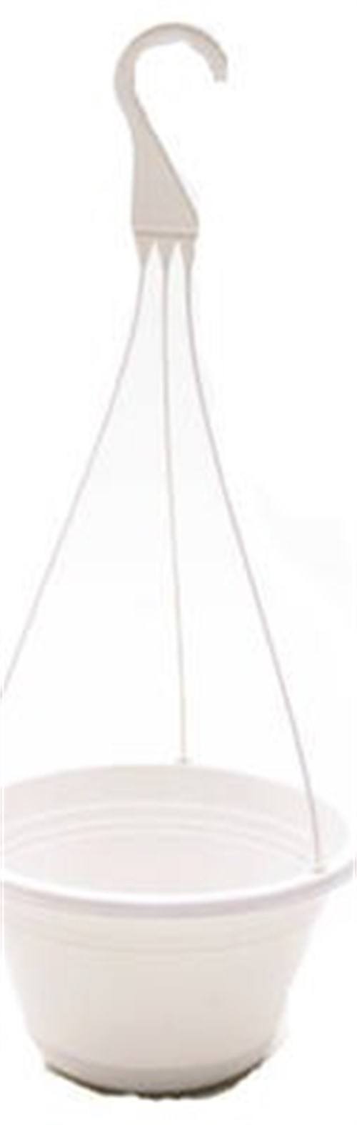 Att Southern HW1224WH 12-Inch White Hanging Basket Planter by ATT SOUTHERN INC