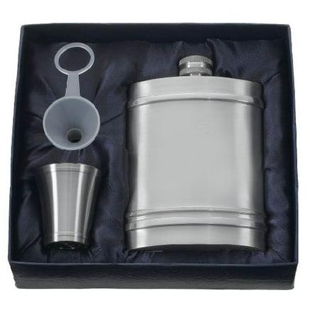 Visol Arlington Pewter Hip Flask Gift Set ()