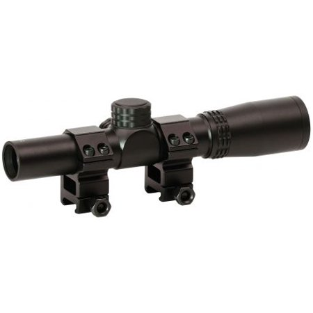 CenterPoint 2x20mm Pistol Scope with Rings, 72004