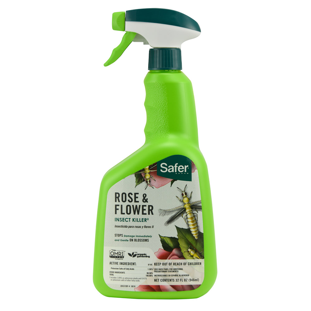 Safer Brand 32 fl oz Ready-To-Use Rose & Flower Insect Killer