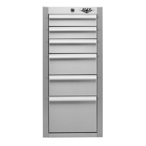 Viper Tool Storage 16'' Wide 6 Drawer Side Cabinet
