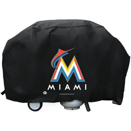 MLB Rico Industries Deluxe Grill Cover, Miami Marlins by