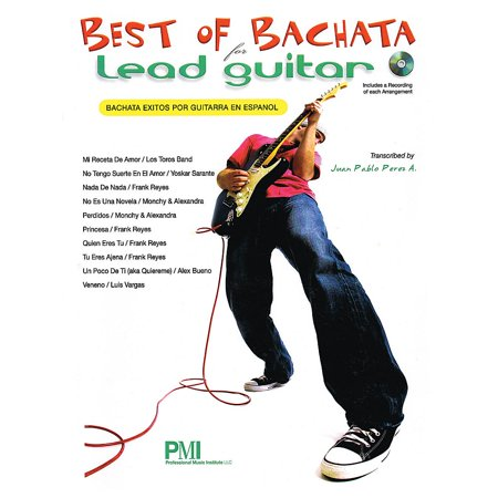 Professional Music Institute Best of Bachata for Lead Guitar Guitar Series Softcover with (Best Guitar Virtual Instrument)